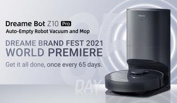 Dreame Technology представляет интеллектуальный робот-пылесос — новое слово в уборке дома