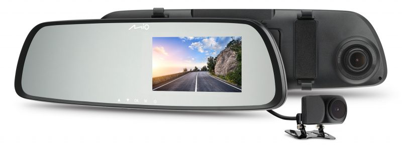 Mio представляет новую R-серию видеорегистраторов-зеркал MiVueTM