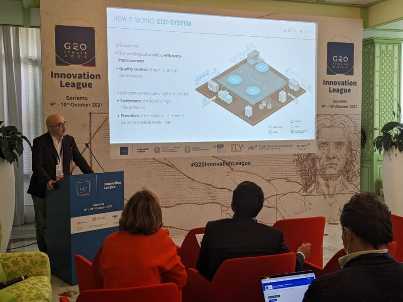 Искуcственный интеллект в медицине: российская компания Botkin.AI выступила на G20 Innovation League