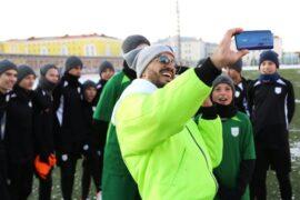 ОРРО дал возможность юным футболистам позаниматься с тренером «Барселоны»