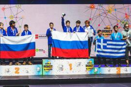 Школьники Москвы завоевали «серебро» на XVI Всемирной олимпиаде роботов