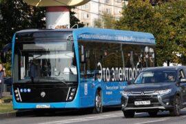 Москва перейдет на электробусы уже через 7-8 лет