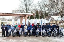 Спортсмены детской мотошколы обновили мотопарк благодаря «Белкамнефть» (ПФГ САФМАР Михаила Гуцериева)