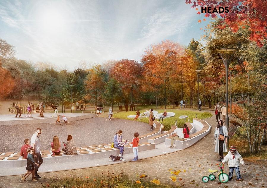 «Хэдс Групп» стало победителем конкурса на лучшую концепцию благоустройства «Дворянки» и парка Победы