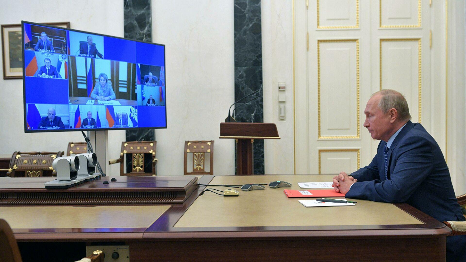 Путин предложил продлить СНВ-3