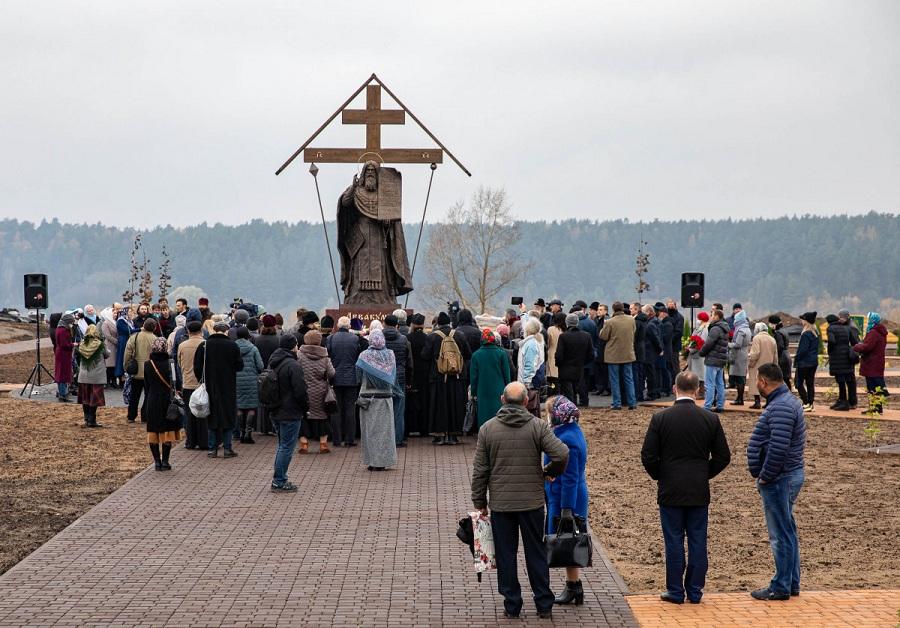 Памятник протопопу Аввакуму был торжественно открыт в городе Боровске