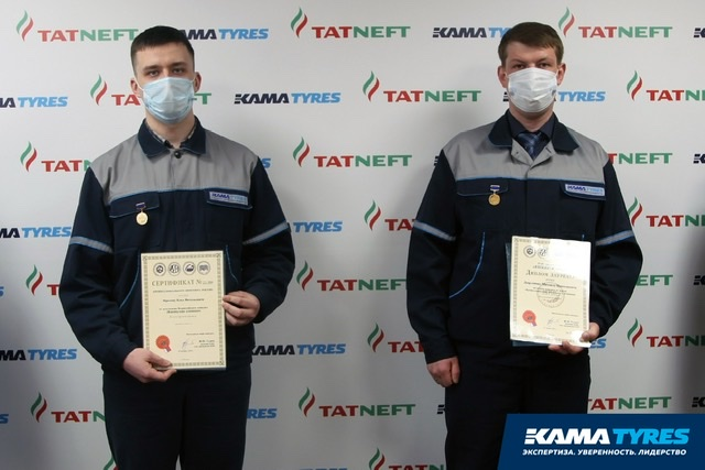 В номинации «Электротехника» в конкурсе «Инженер года-2020» победил сотрудник KAMA TYRES