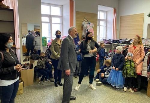 Глава партии «Родина» Журавлев пообещал жителям Опочки решить городские проблемы
