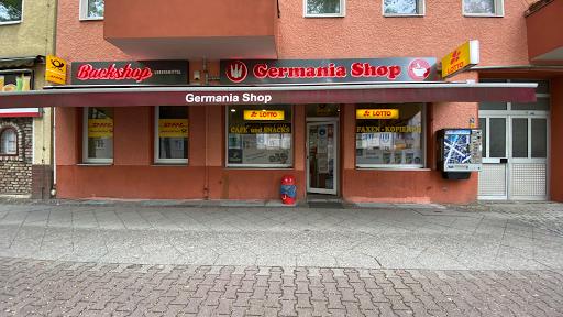 Kiosk, DHL, Germaniashop