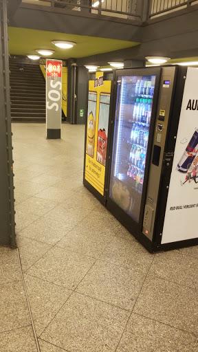 Snackautomat auf dem U-Bahnsteig