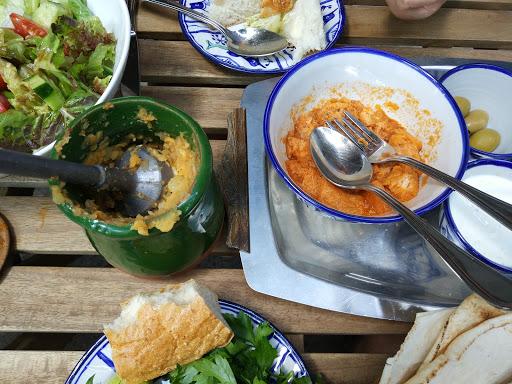 Restaurant-Café Caramina mit persischer Küche