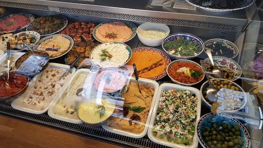 Meyan mediterraner Feinkost Frühstück-Mittag-Abendessen-Catering