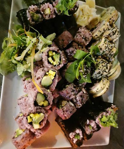 tiger club vegan sushi