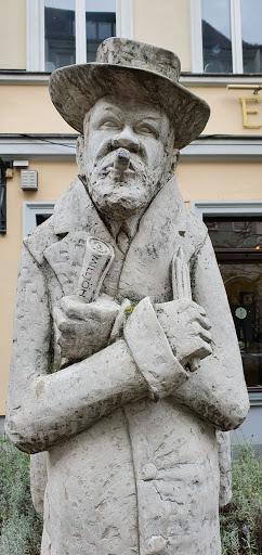 Denkmal für (monument to) Heinrich Zille