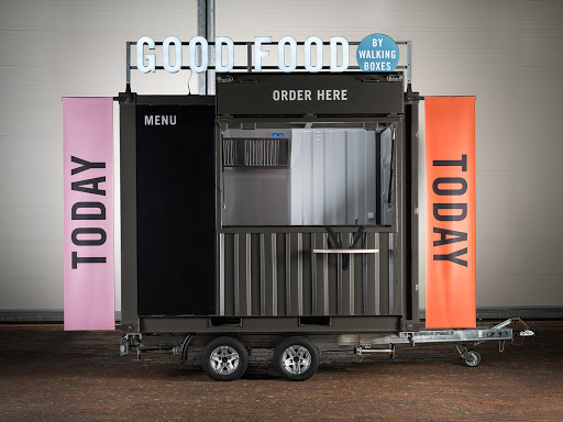 walkingboxes Foodtrailer & Verkaufsanhänger