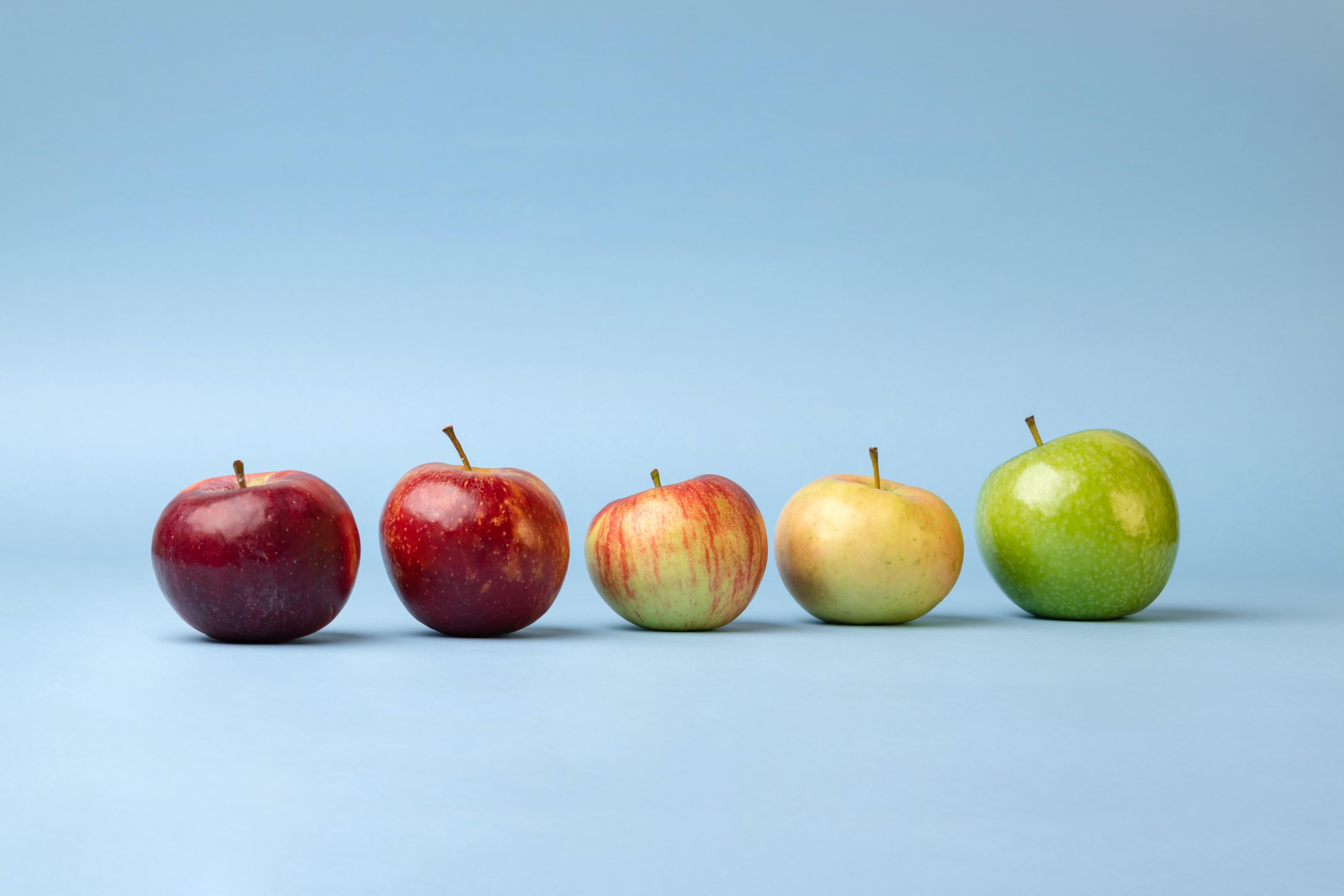 Jabłka w jesiennej diecie