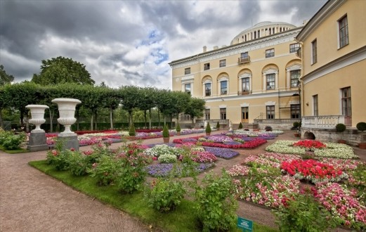 Собственный садик Павловского дворца