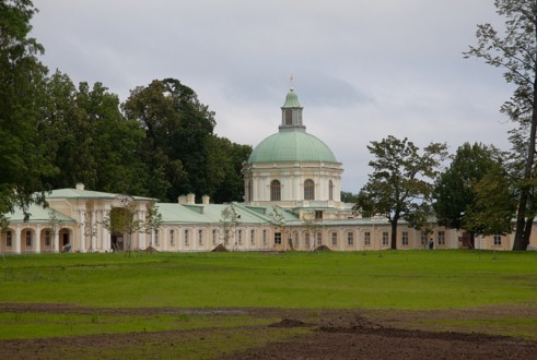 Церковный павильон Большого Меншиковского дворца
