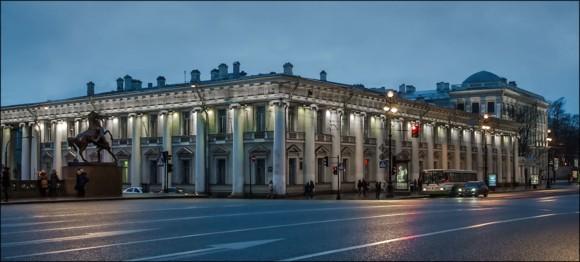 Аничков дворец на Невском