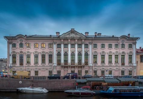 Строгановский дворец на Невском проспекте