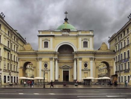 Костёл святой Екатерина на Невском проспекте