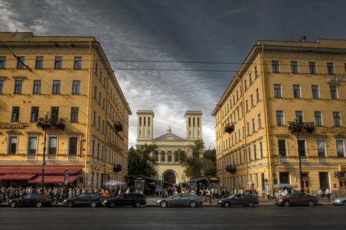Немецкая церковь Святого Петра на Невском проспекте