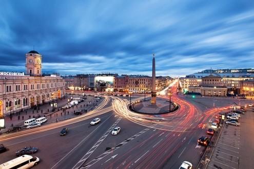 Площадь восстания на Невском проспекте