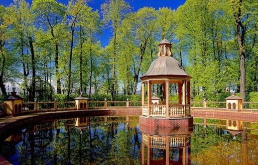 Менажерийный пруд в Летнем саду