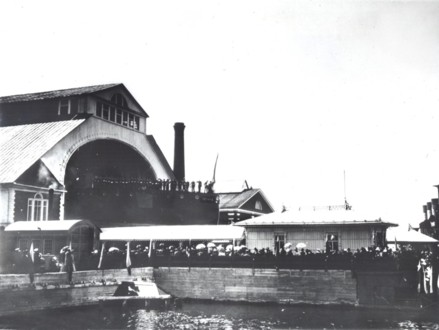 Спуск Крейсера Аврора на воду