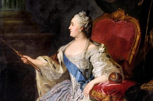 Российская императрица Екатерина Великая