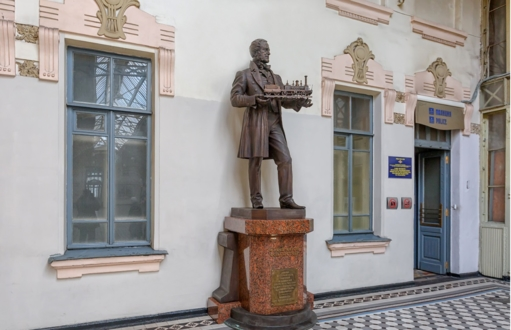 Памятник австрийскому инженеру Герстнеру