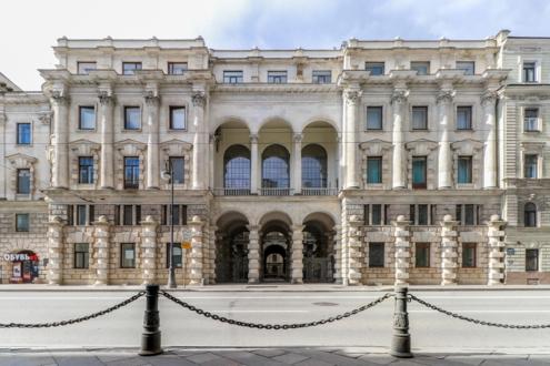 Фасад резиденции бухарского эмира