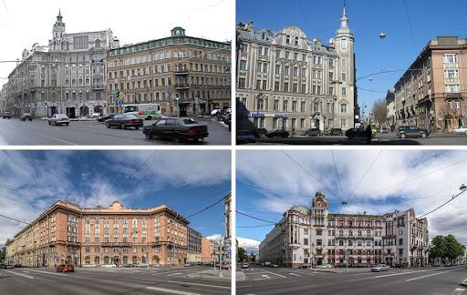 Панорама Австрийской площади