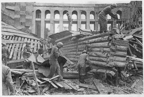 Восстановление зоосада после войны