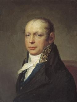 Архитектор Захаров в годы строительства Адмиралтейства