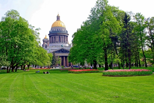 Александровский сад в наши дни