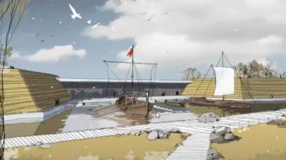 Проект музея-заповедника на Охтинском мысу
