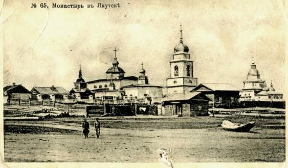 Спасский монастырь в начале ХХ века