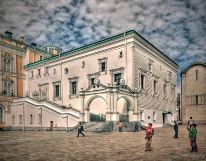 Современный вид Грановитой палаты