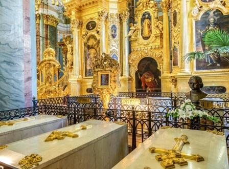 Петропавловский собор - Усыпальница Дома Романовых