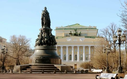 Памятник Екатерине II, наши дни