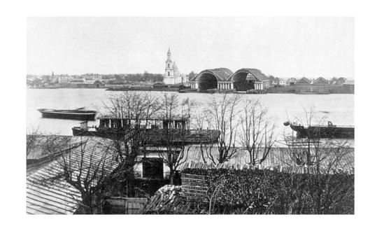 Охтинские верфи 1880-81 годы
