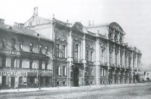 Дворец Белосельских-Белозерских в конце XIX века