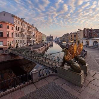 Современный вид Банковского моста