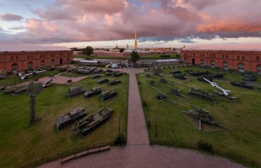 Панорама Артиллерийского музея в Санкт-Петербурге