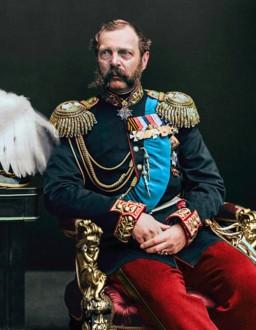 Император Александр II (фото 1870-ых)