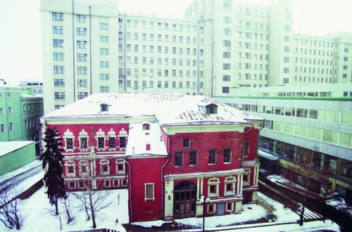 Палаты Троекуровых в начале XXI века