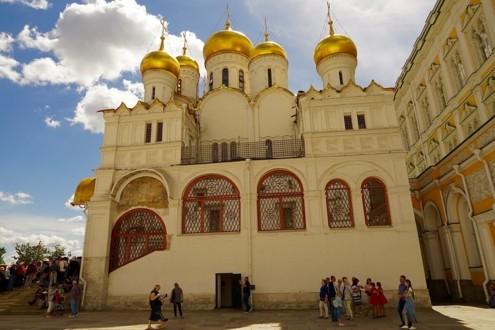 Северный фасад Благовещенского собора