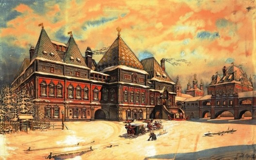 Палаты Троекуровых в конце XIX века