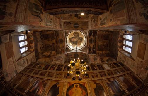 Интерьер Благовещенского собора